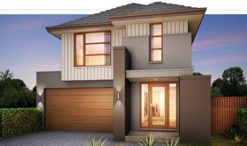 Dise os de casas modernas de dos pisos buscar con google for Fachadas de casas pintadas