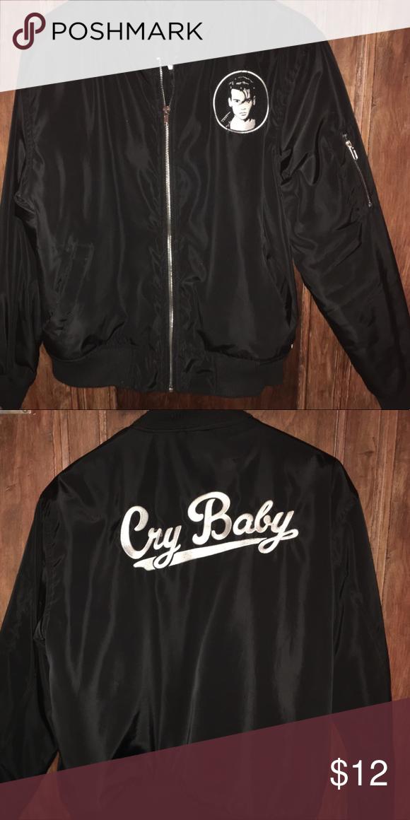 Cry Baby Bomber Jacket Baby Bomber Jacket Jackets Forever 21 Jacket Coats