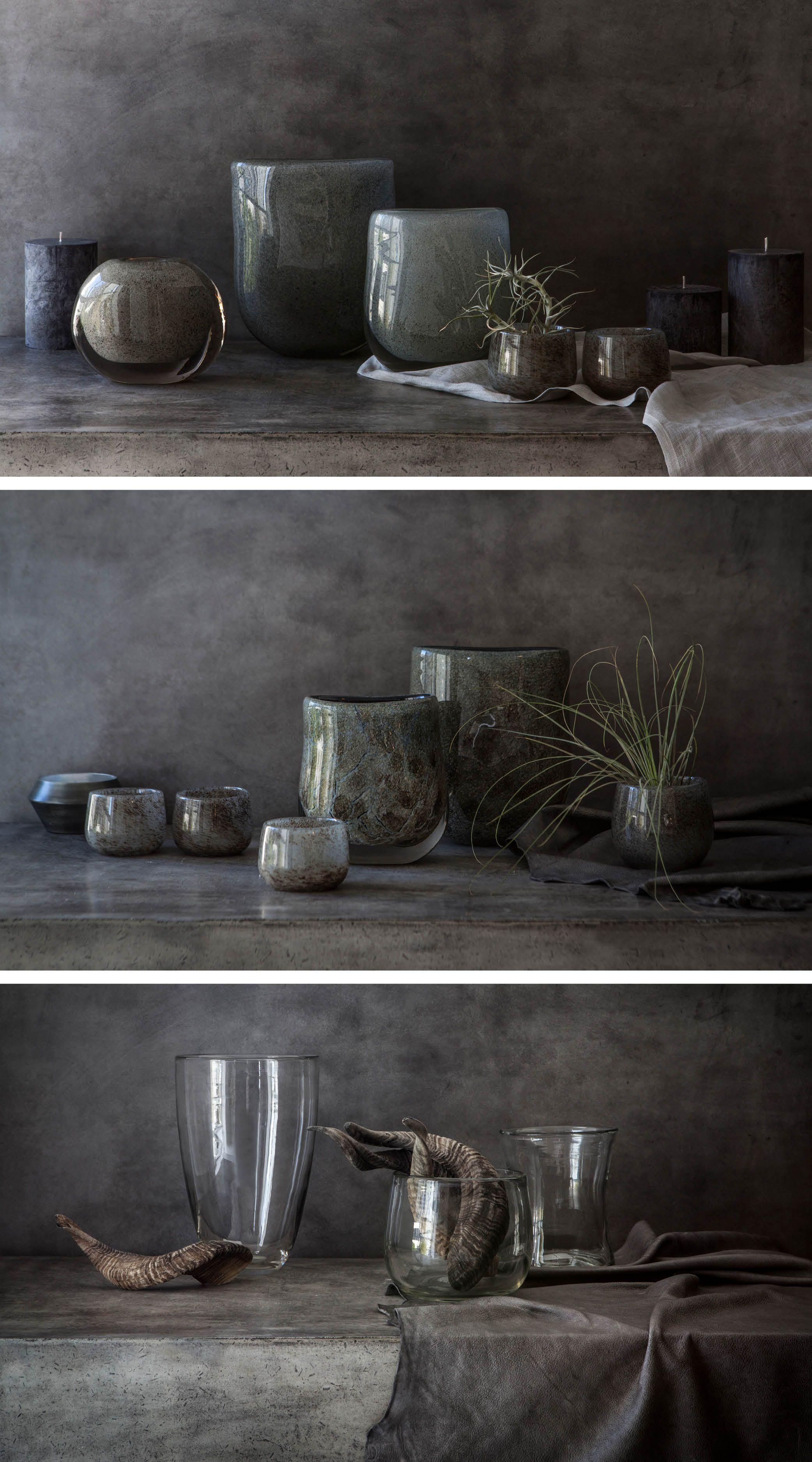 Weylandts Stocks A Selection Of Handmade Dutz Glass Vases