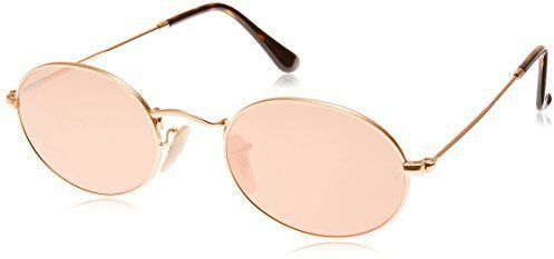 ca26f9efae Ray-Ban Oval Flat Lens Sunglasses (RB3547) Metal
