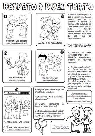 Respeto Y Buen Trato Actiludis Formacion Etica