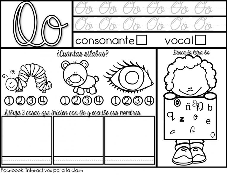 aprendizaje de vocales en preescolar estupendo material