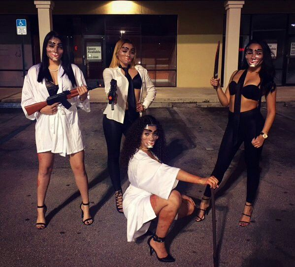 Group Halloween Costumes Girls 2018