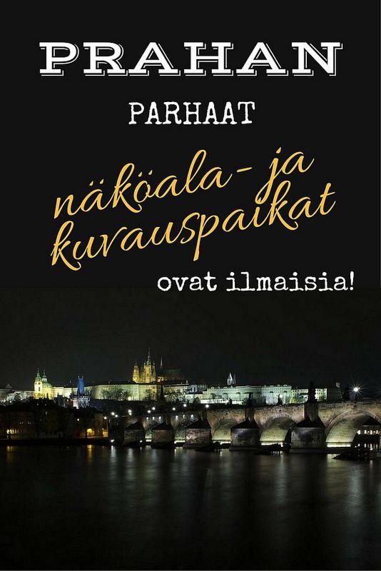 Prahan parhaat näköalapaikat ovat ilmaisia vierailla   Live now – dream later -matkablogi