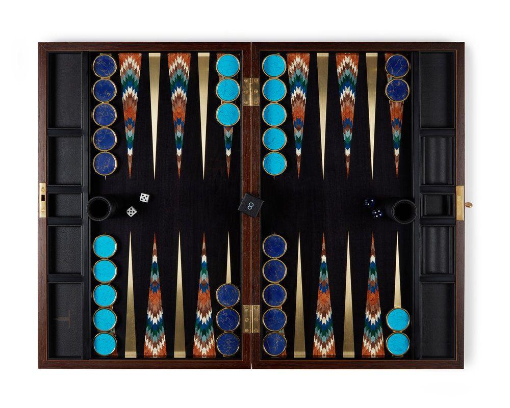 Art Deco — Les Ateliers Courbet in 2020 Backgammon