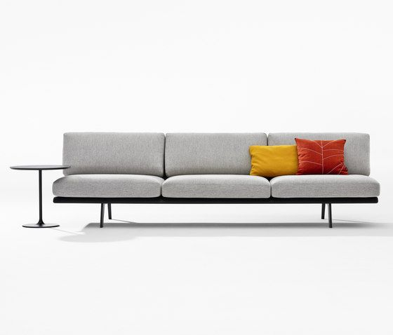 Lievore Altherr Molina Zinta Lounge Sofa System Its Deep Seat Perfectly Supports The Casual Recline Of Body