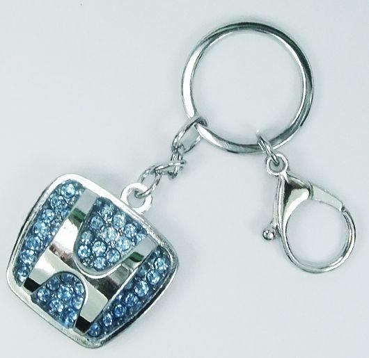 HONDA Blue Diamond Car Keyring