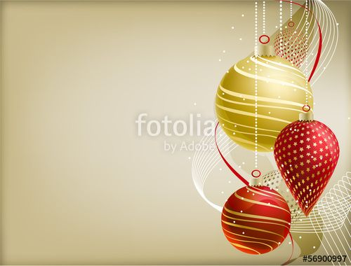 Christmas Background  Vector Illustration  Adobe Illustrator