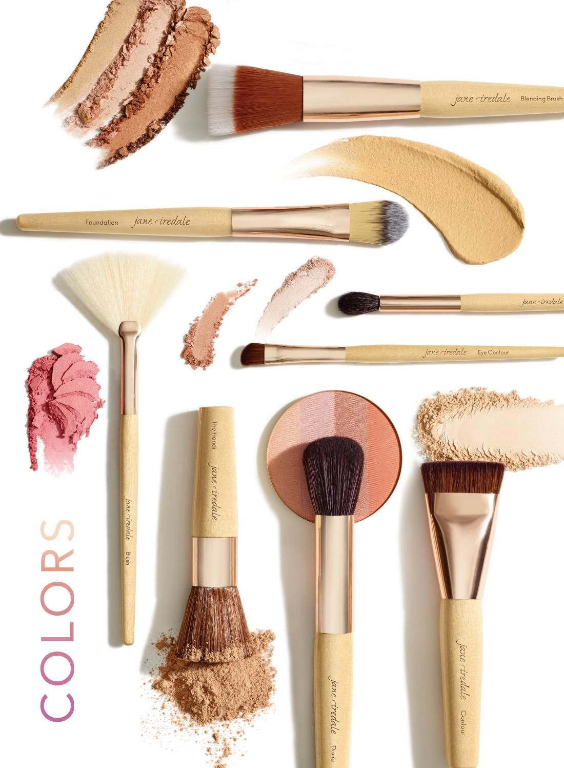 2018 Spring jane iredale Colors brochure Color, Mineral