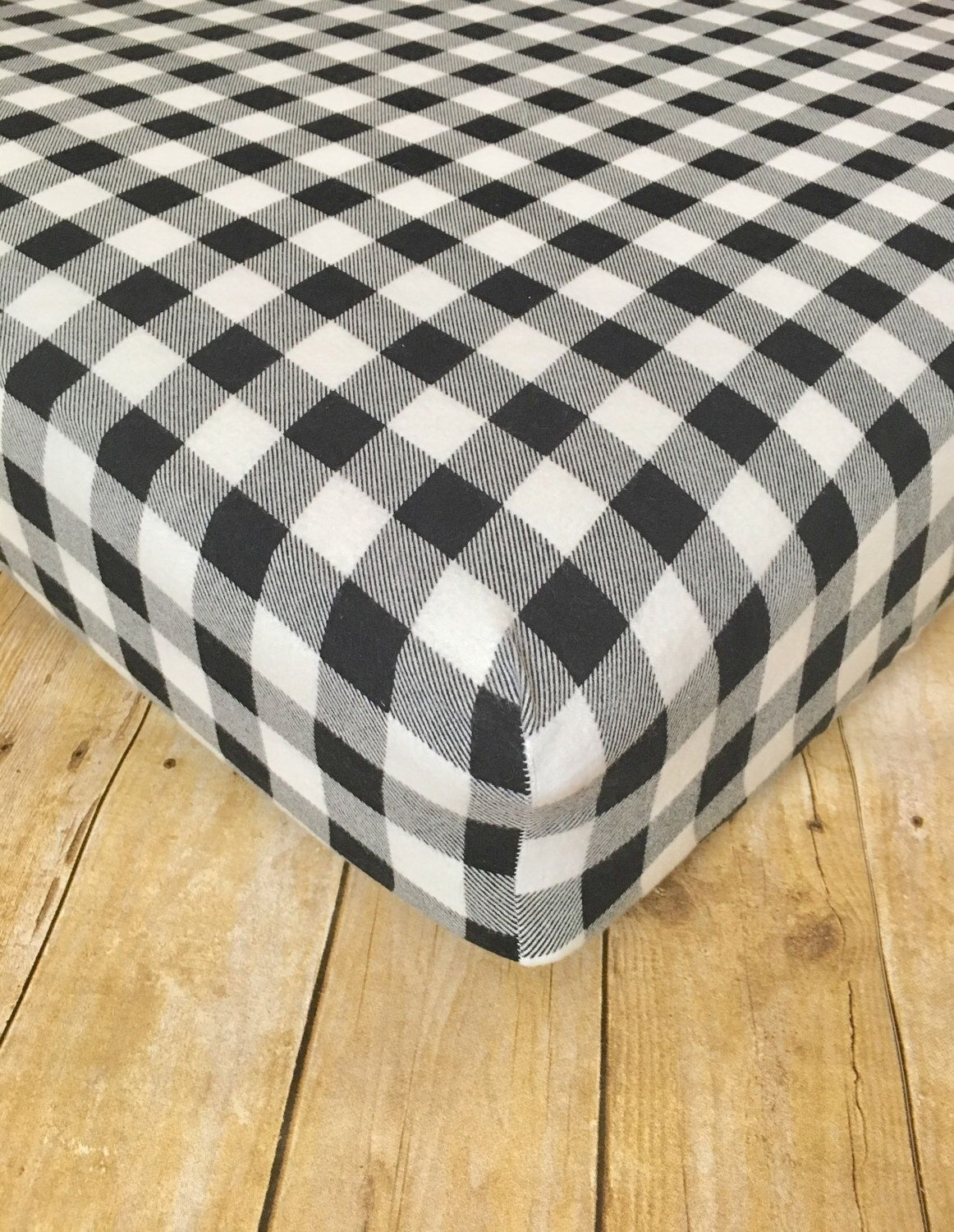 Red flannel sheets  Black and White Buffalo Plaid Flannel Sheets  BUNK ROOMGUEST ROOM