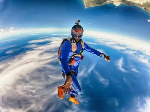 Orange Is The New Black Skydiving Extreme Sports Adventure Sports