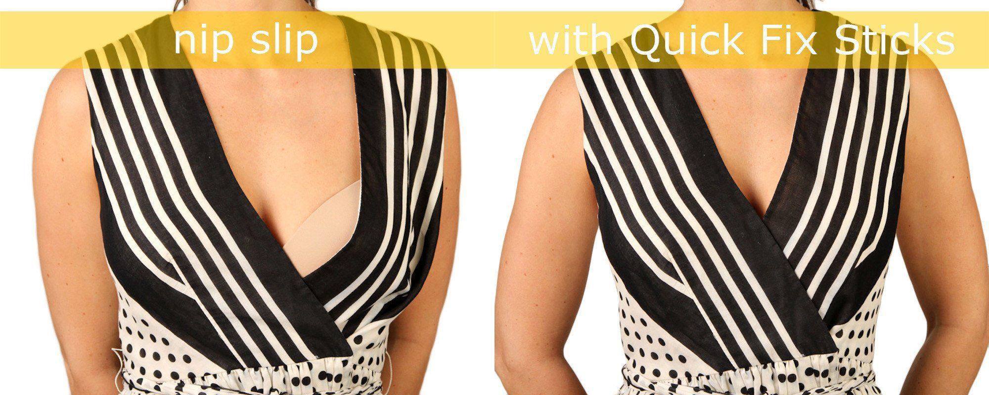 Quick Fix Sticks adhesive fashion tape \u0026 double stick body