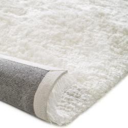 Photo of benuta shaggy rug Whisper white 120×170 cm – long pile rug for living room benuta