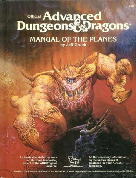 Advanced Dungeons & Dragons Archive: Manual of the Planes