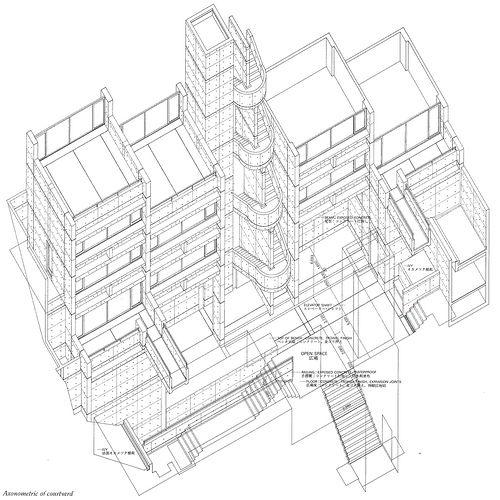 Tadao Ando - Rokkosan Residence Drawings 03.gif | Flickr - Photo Sharing!