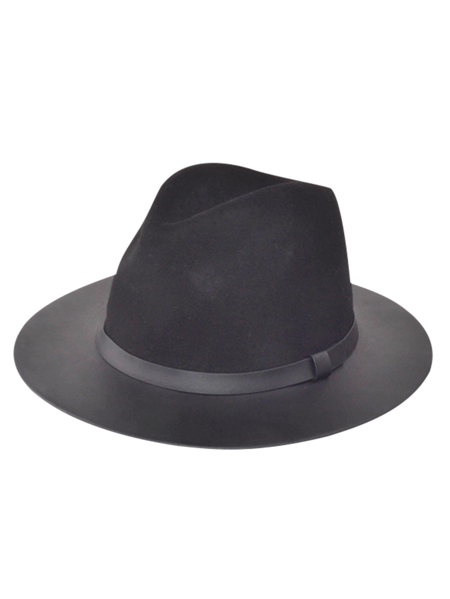 Winter Larger Brimmed Fedora Jazz Hat  8c03498f07e
