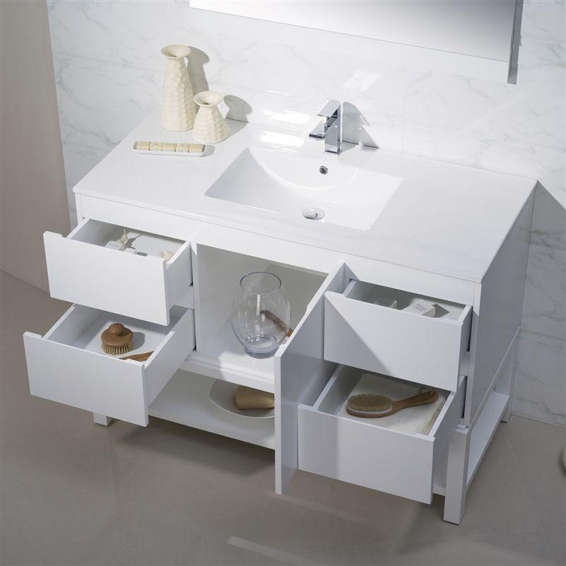 Images Photos Modern Bathroom Vanity Emmet with Porcelain Top