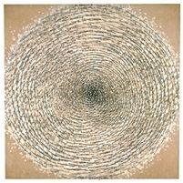 Weiße Spirale by Günther Uecker