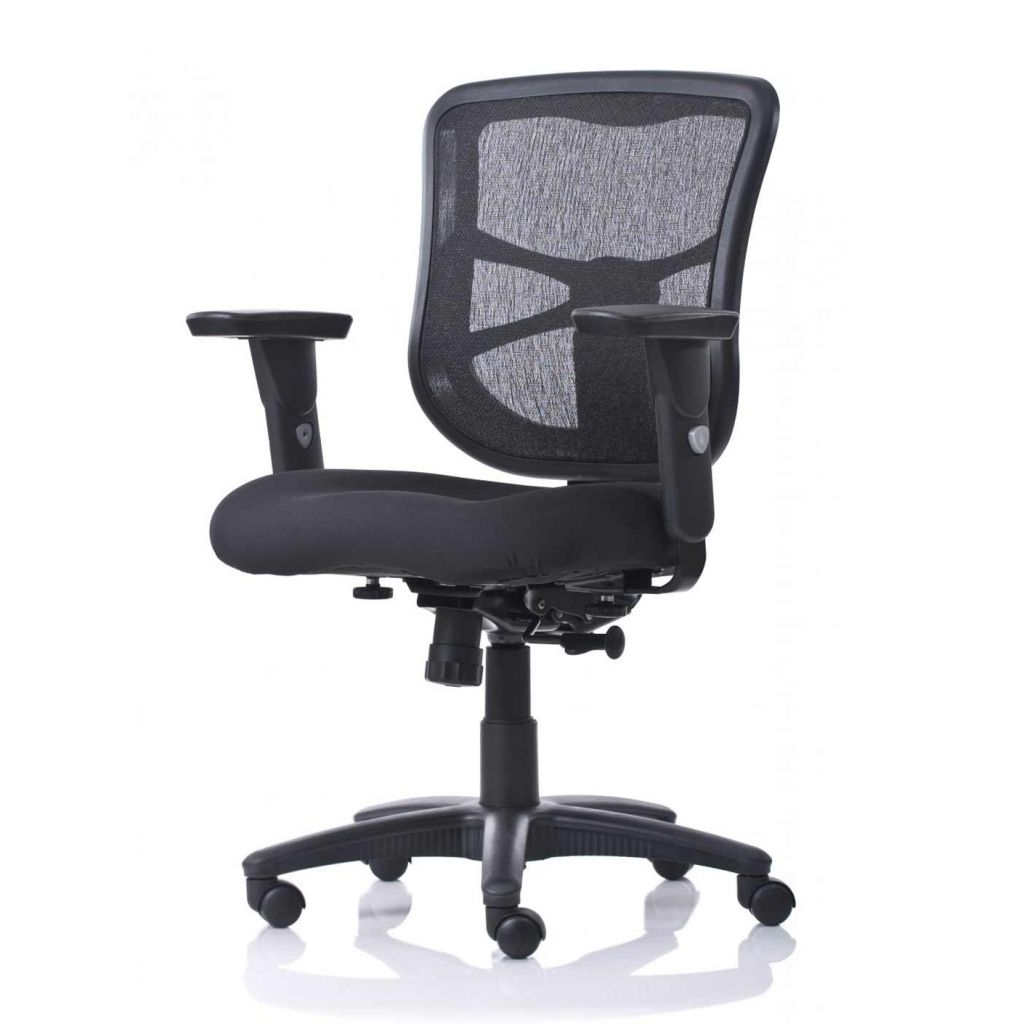 Workpro Commercial Mesh Back Executive Chair Black 2019 Workpro Commercial Mesh Back Executive Chair Office