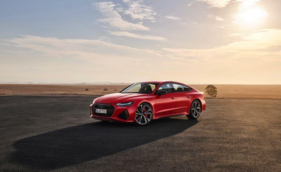 Yeni 2020 Audi Rs7 Sportback In Fotograflari Otomobilir Audi Rs7 Luxury Sedan Audi