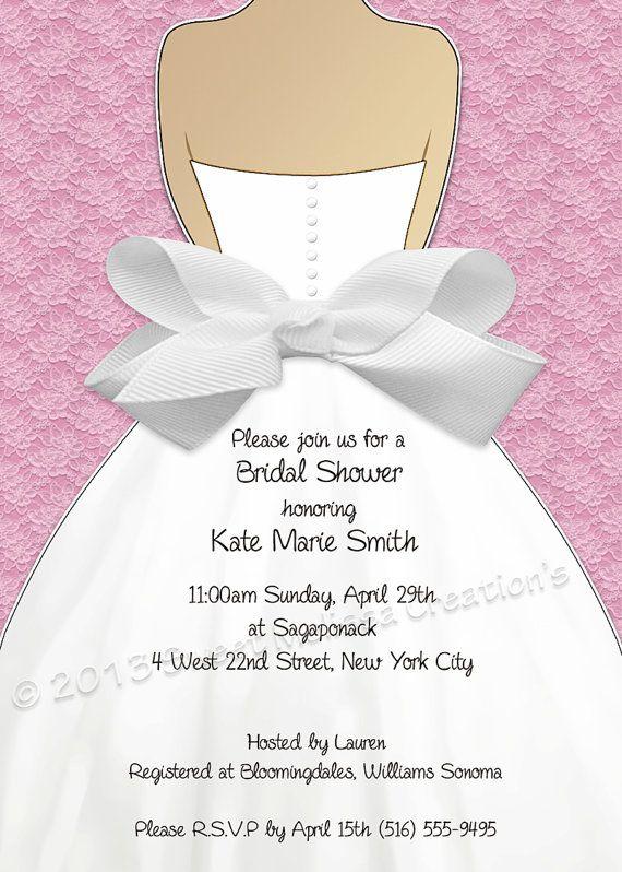 DIY Printable Bridal Shower Invitation by SweetMelissaCreation