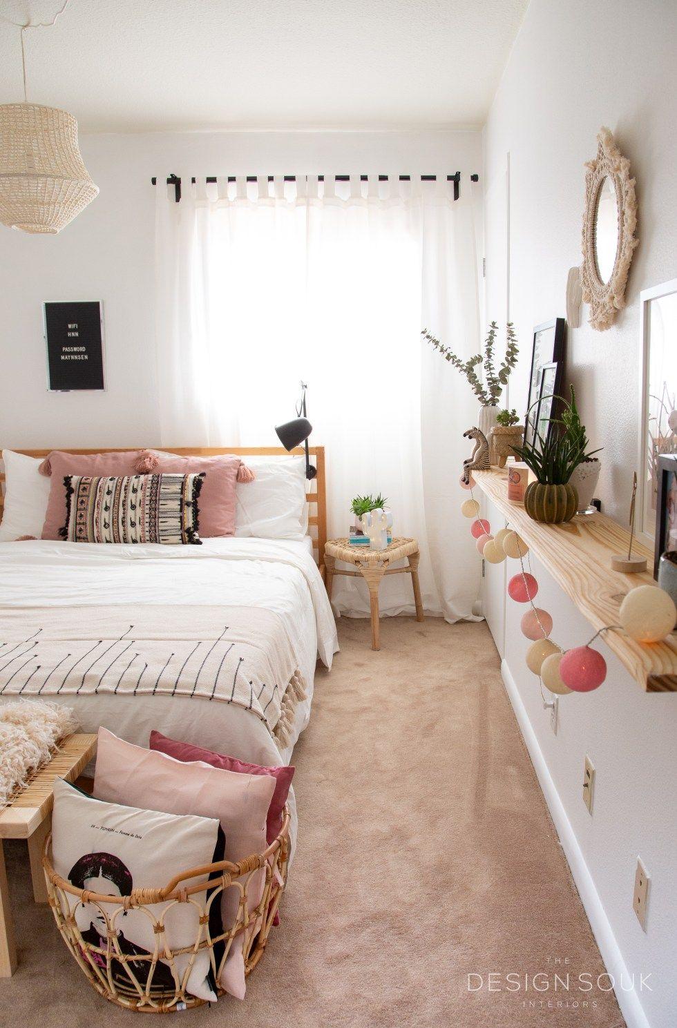 A Guest Bedroom Makeover - The Design Souk  Ikea bedroom design