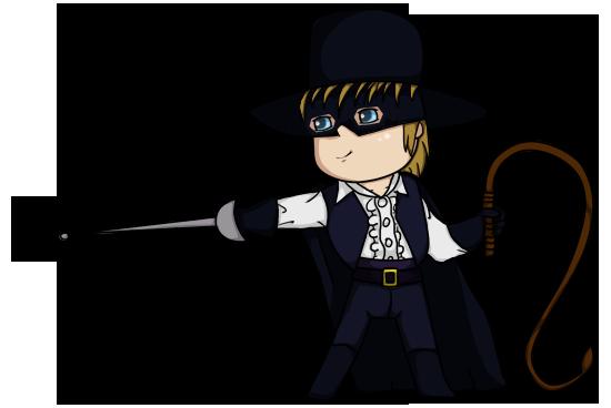 Zorro chibi by engelchen viantart on deviantart انمي