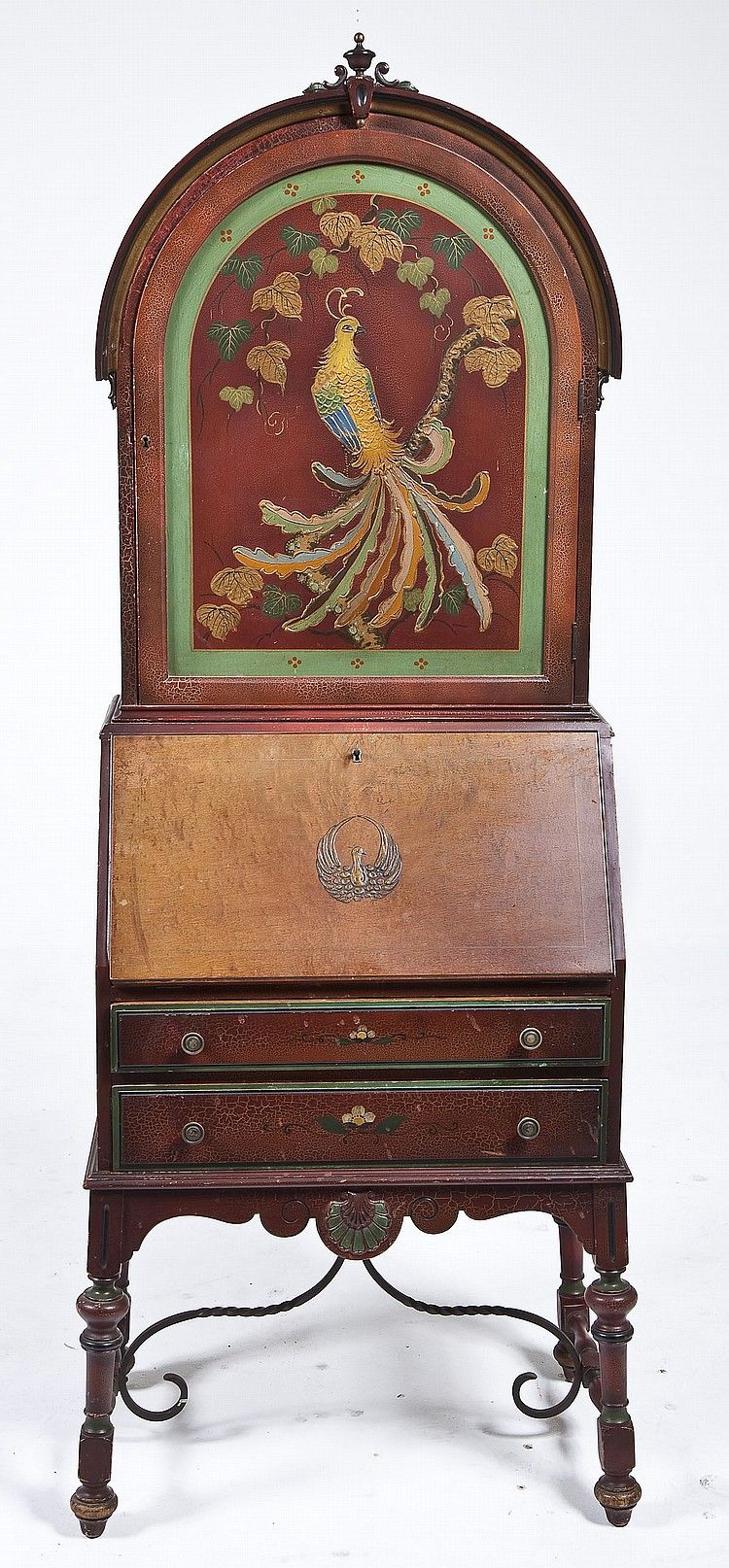 early 20th century secretary that combines elements from on top 10 interior paint brands id=19289
