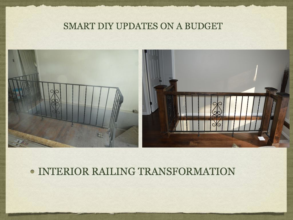Best Update Your Interior Railing While Keeping Costs At A 400 x 300