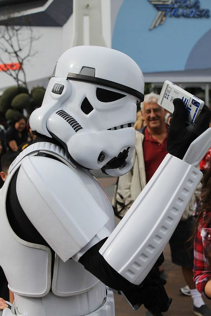 Not quite the droid he was looking for...