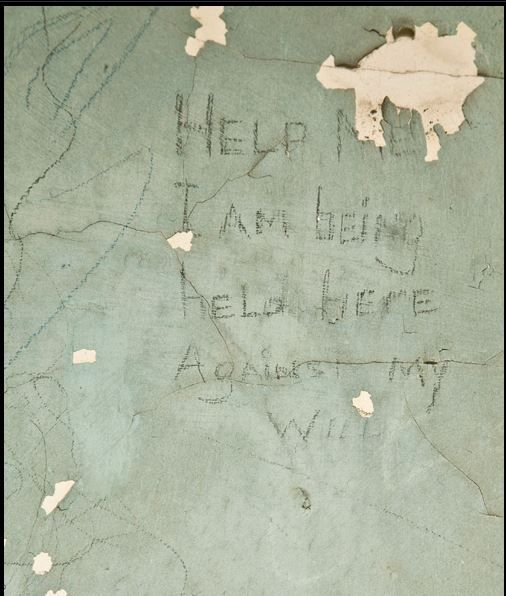 Writing On Mental Asylum Walls By Patients