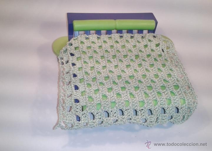 Playmobil ropa custom colcha de ganchillo para camas - Colchas de ganchillo modernas ...