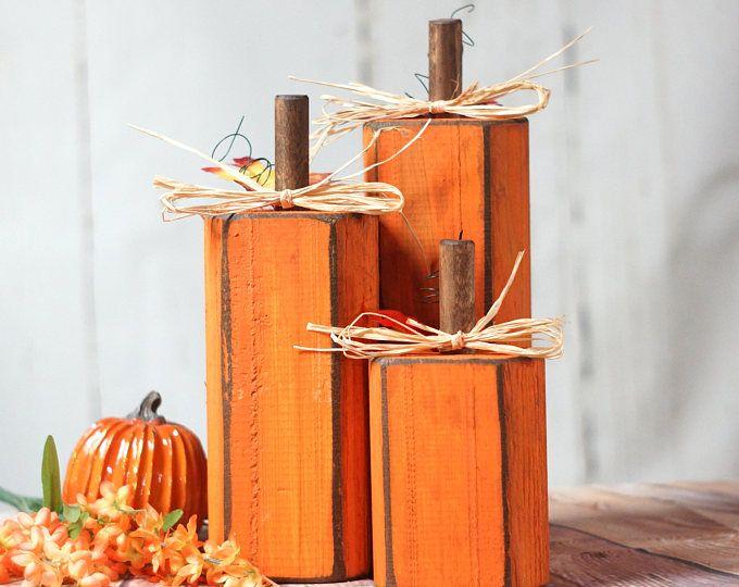 Rustic Halloween, Black Cat, Pumpkin Decor , Ghost Shelf Sitter, Halloween Wreath Hanger, Primitive Halloween Decor, Wood Pumpkin, Wood Cat