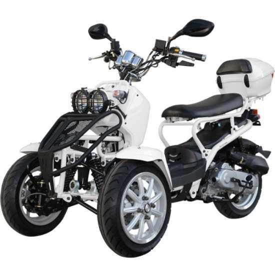 Brand new Trike 50cc 3 Wheel Scooter Moped Trike Scooter for