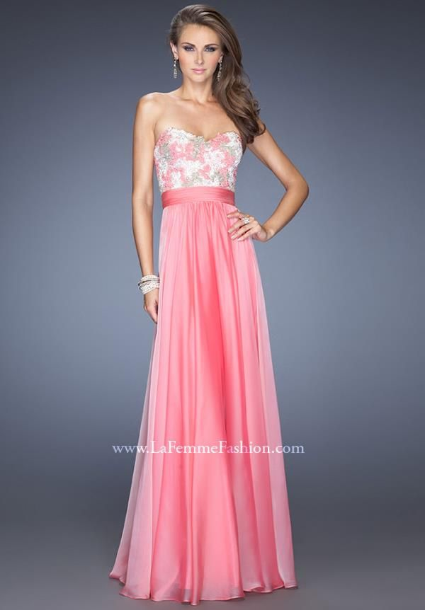 Showcasing a strapless sweetheart neckline. If you are looking for ...
