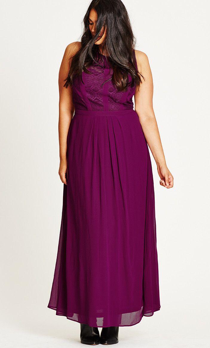 Shop Women's Plus Size Women's Plus Size Maxi Dress   City Chic ...