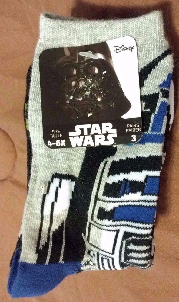 Check out NEW Star Wars 3 pairs children socks 4-6X #Casual http://www.ebay.com/itm/-/292049916850?roken=cUgayN&soutkn=O8GdKx via @eBay