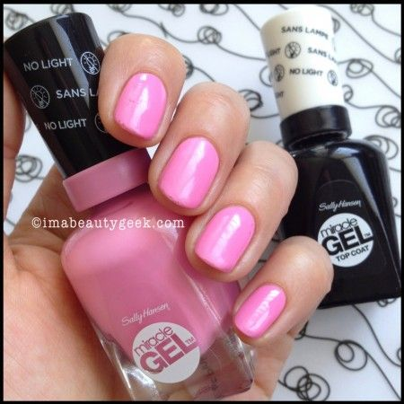 Sally Hansen Miracle Gel Review Color Collection