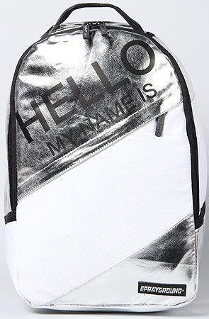 The Hello Metallic Backpack by Sprayground