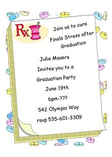 Graduation party invitations summer and pool party invitations graduation party invitations stopboris Image collections