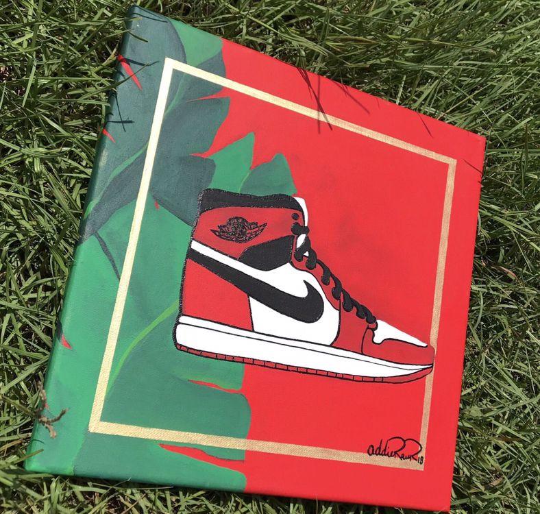 Jordan Artwork | Mini canvas art
