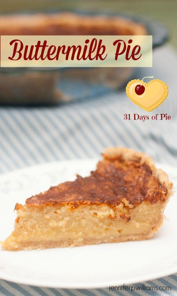 Cinnamon Buttermilk Pie Recipe Buttermilk Recipes Buttermilk Pie Buttermilk Pie Recipe