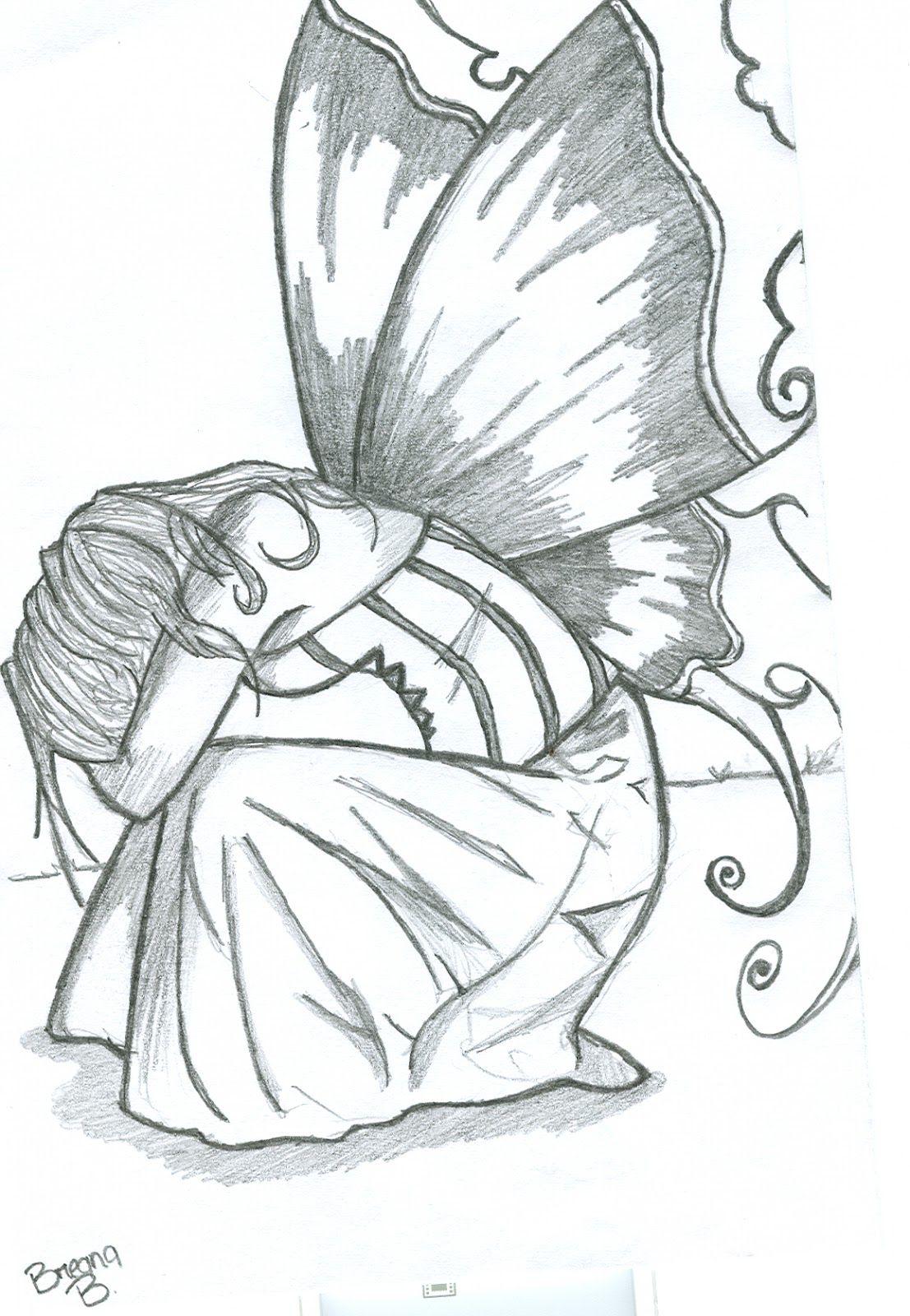 Angel Paintings And Drawings Art Drawings Cartoon Drawings Cool
