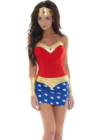 Wonder Woman Costume Costumes Pinterest Woman costumes - halloween costume ideas for women 2016