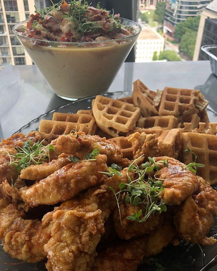 Check out simonelovee honey fried chicken happy