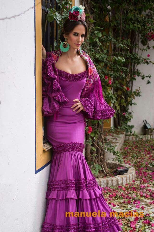 Flamenca buganvilla | Moda flamenca | Pinterest | Flamenco, Traje ...
