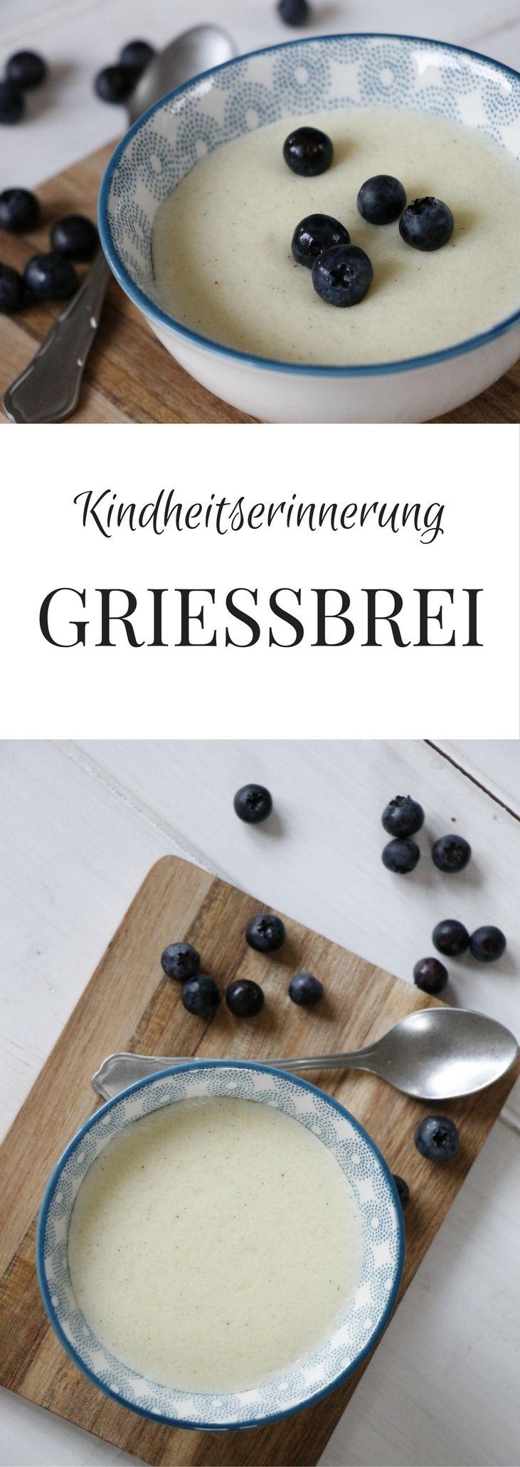 Grießbrei Rezept Einfach Und Lecker Desserts Pinterest