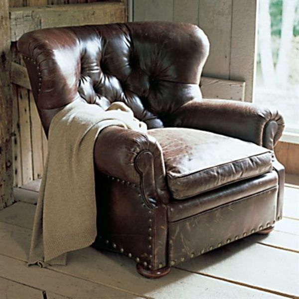 I Really Dislike Leather Furniture But I Just Love Vintage