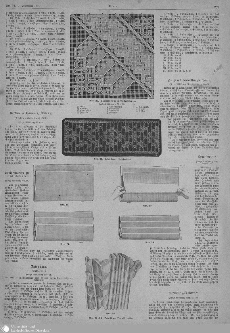 129 [259] - Nro. 33. 1. September - Victoria - Seite - Digitale Sammlungen - Digitale Sammlungen