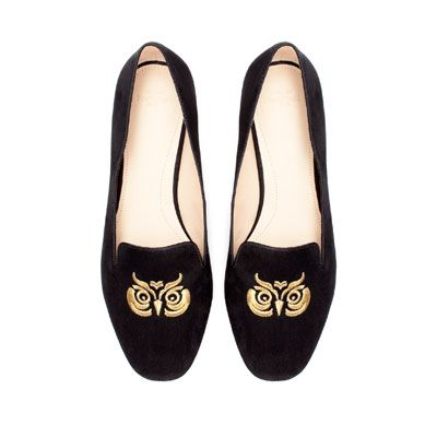 OWL SLIPPER - Flat shoes - Shoes - TRF | ZARA United States